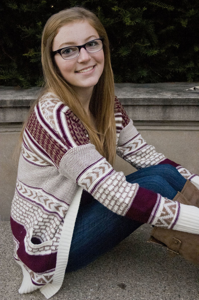 Caitlin Burkus, Sophomore magazine journalism major