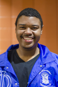 Julian Scott IV, BSU senior and a member of Phi Beta Sigma