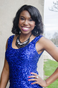 Christa Hammond, President of Alpha Kappa Alpha