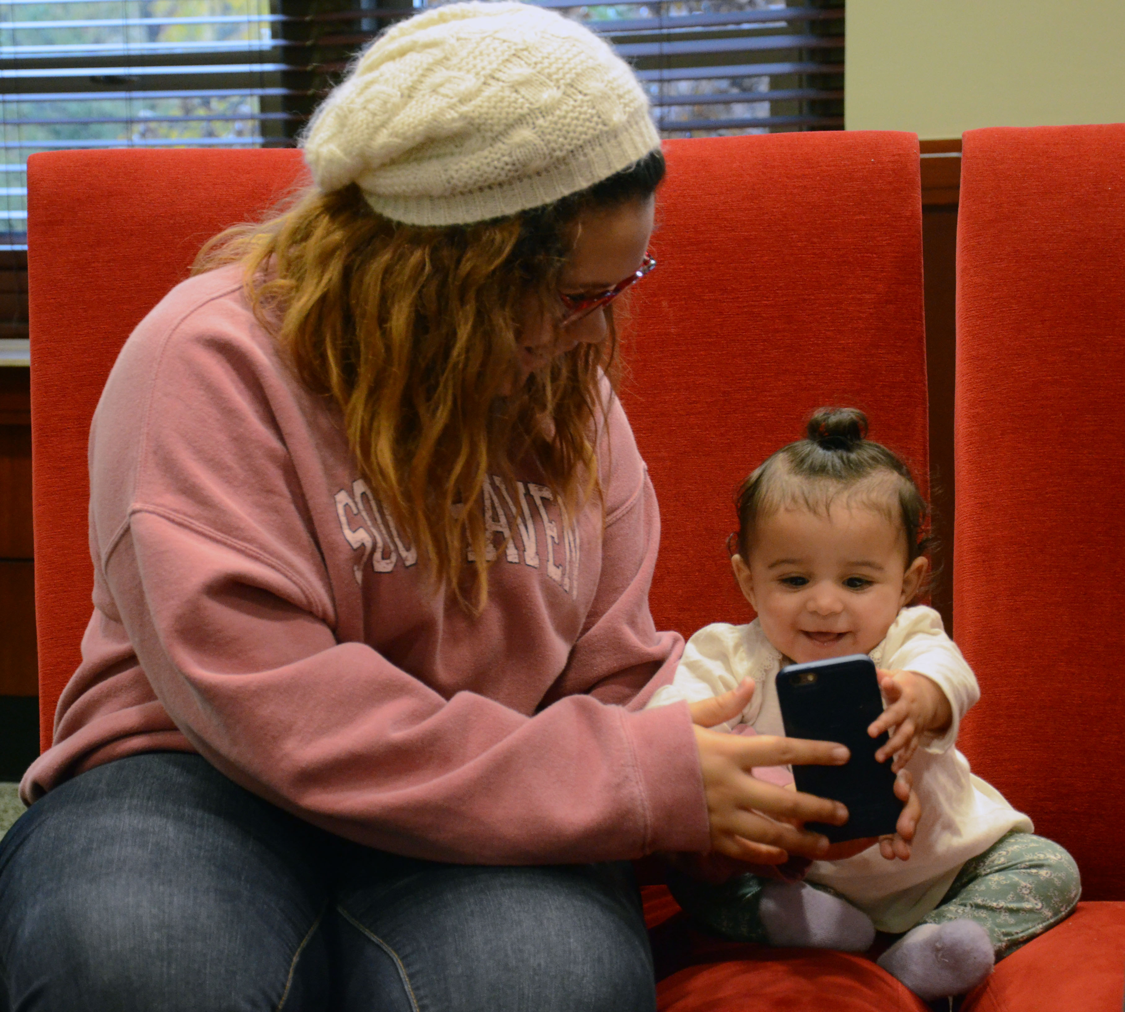 Shaylin and Djvon are not afraid to use technology to educate Charli. As long as it is monitored, these Millennial parents believe that technology will help them become better parents.