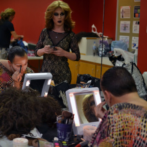 Drag Show in Wonderland, sponsored by Spectrum, was held in the Ball State field and sports building on Oct. 24.